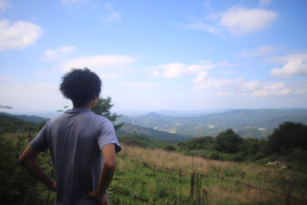 阿原山からの景色