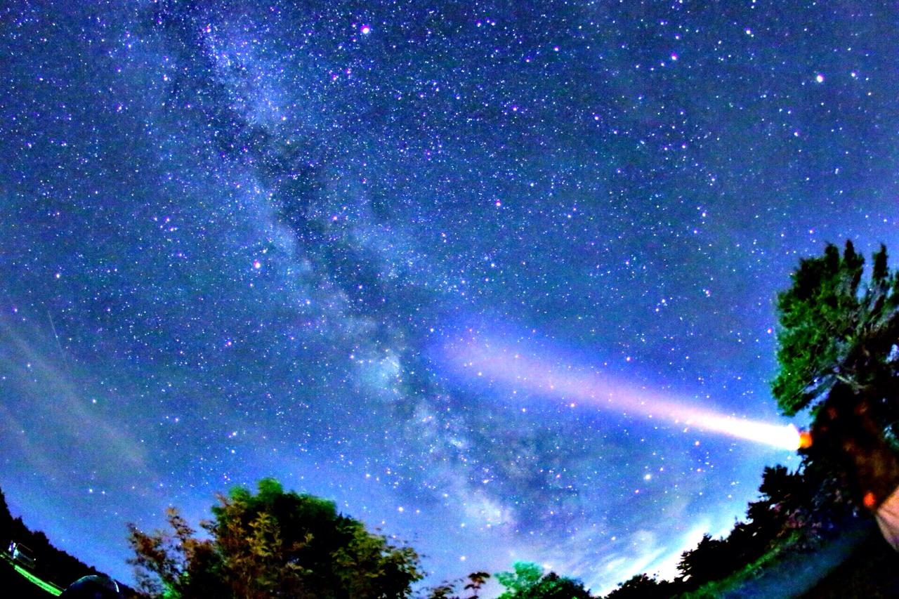 満点の星空と種山高原