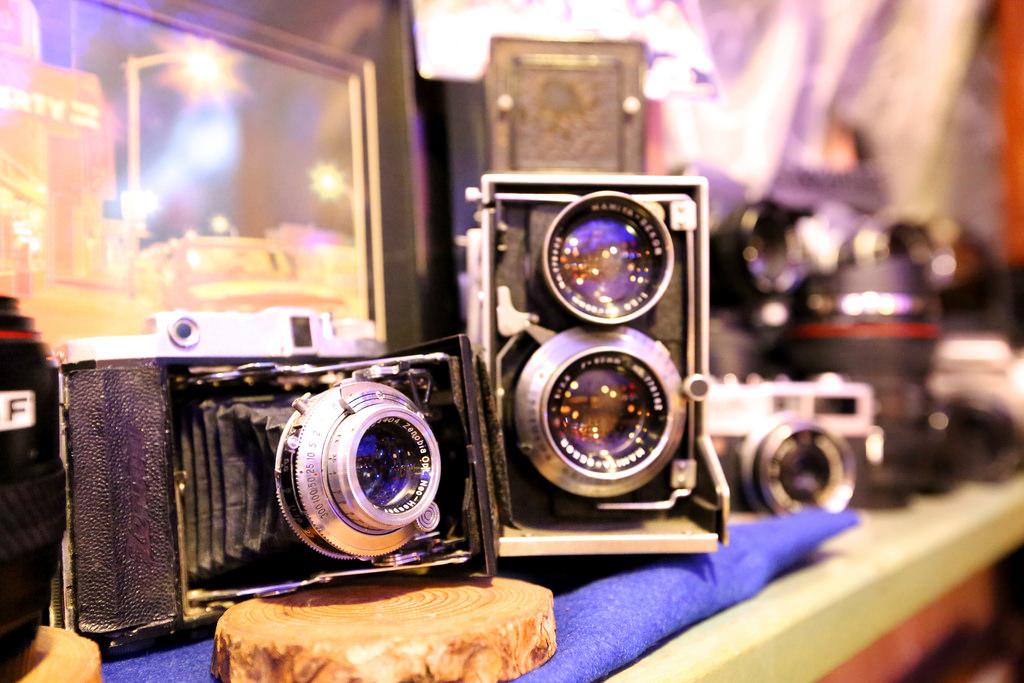 このカメラも店主自ら整備するなどして、使えるものばかり